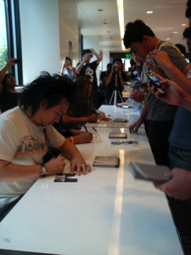 silly fools signing session